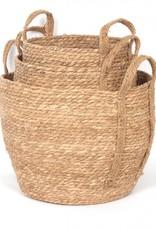 Natural Straw Basket (medium)