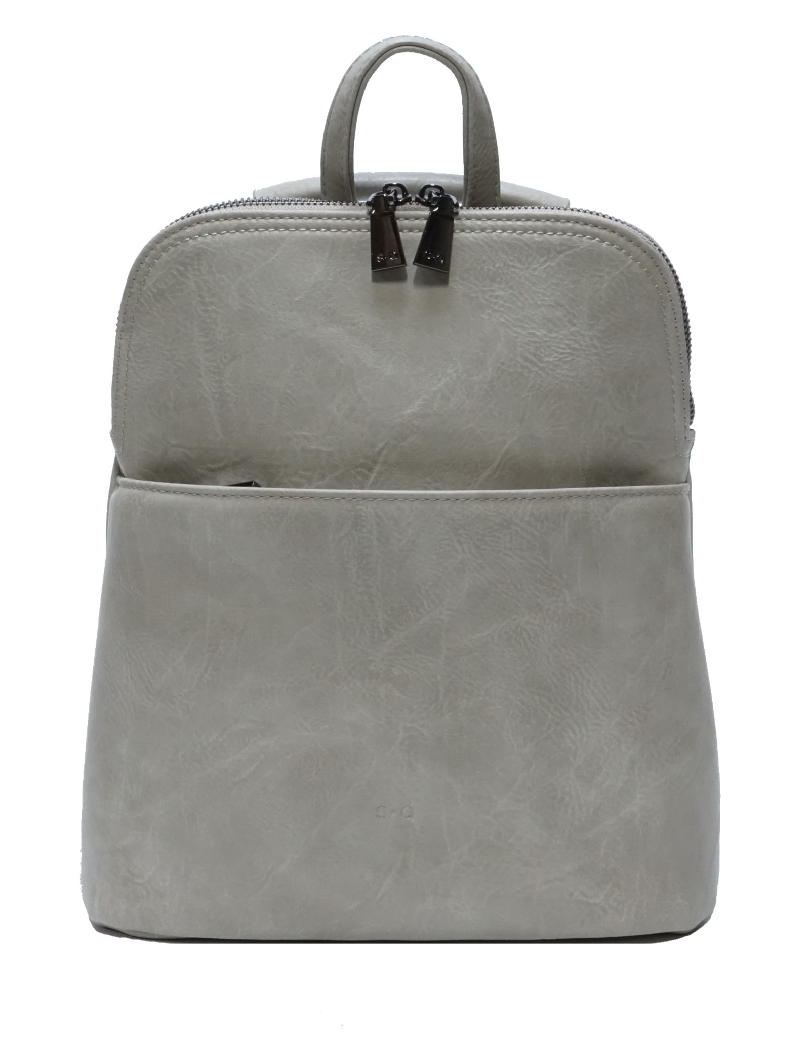 Maggie Convertible Backpack-stone grey