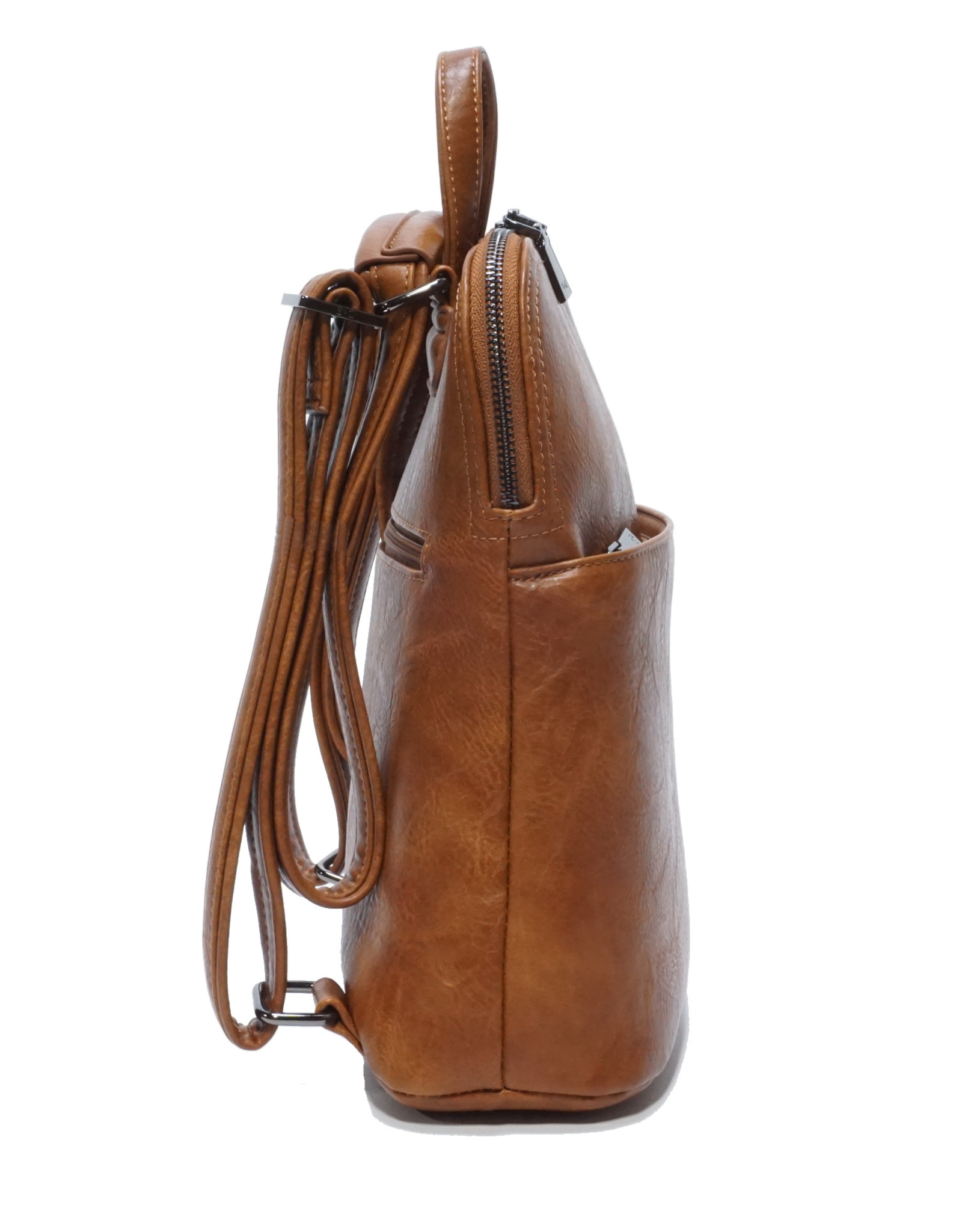 Maggie Convertible Backpack-tan