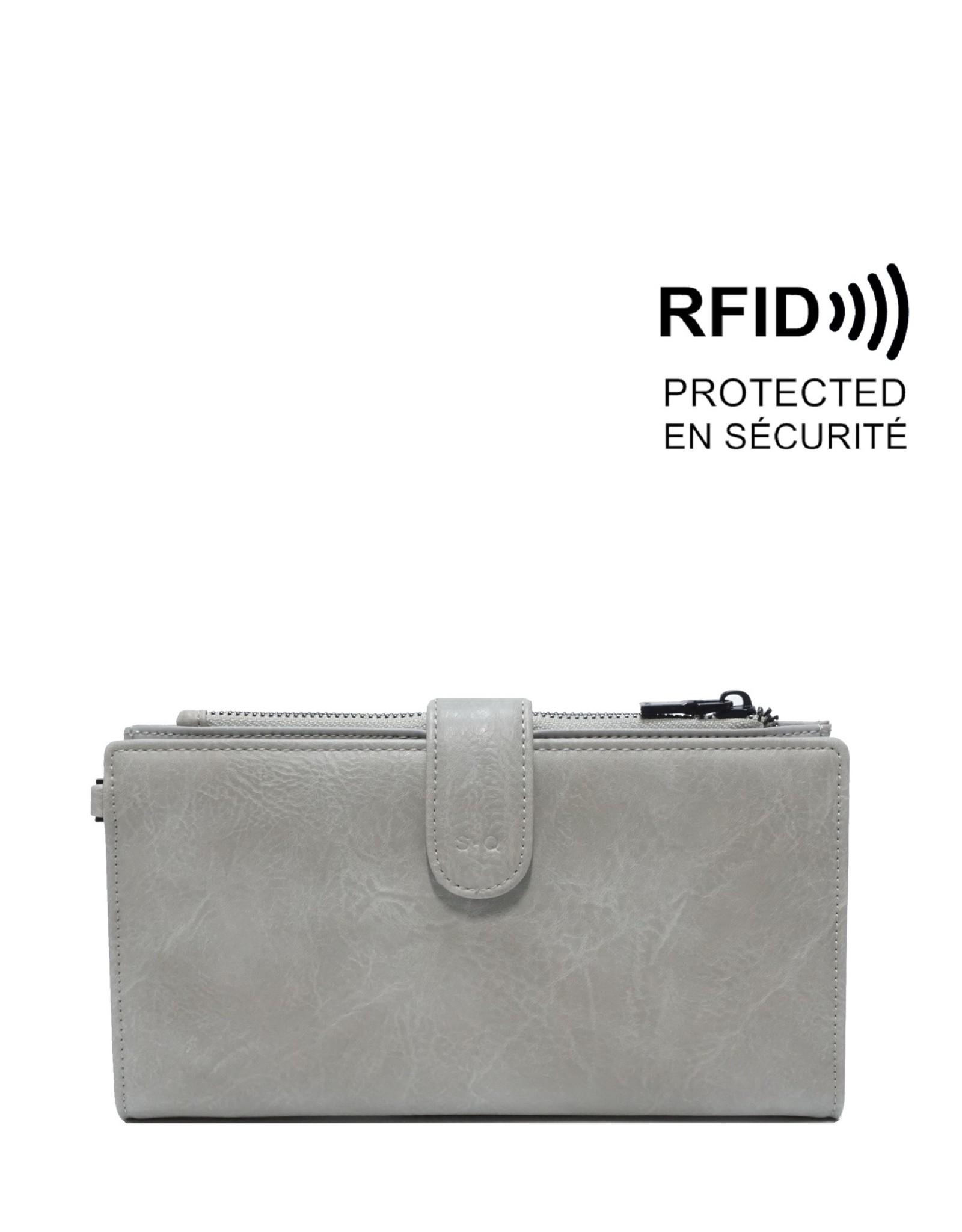 Harmony Smartphone Wallet-stone grey