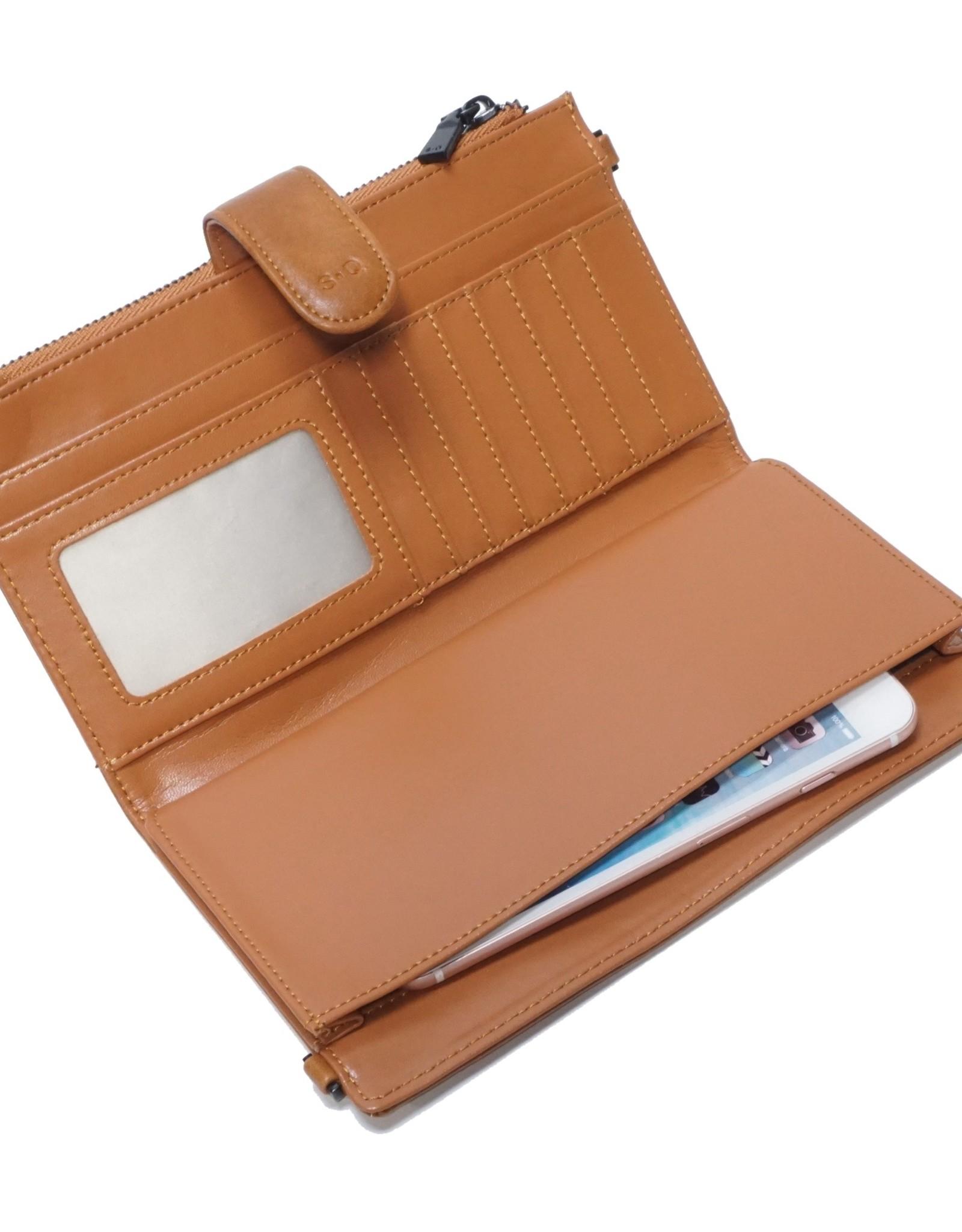 Harmony Smartphone Wallet-tan