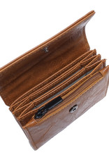 Leona Card Case-gris