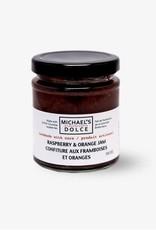 Michael's Dolce  Raspberry & Orange Jam