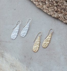 Teardrop Earrings-gold