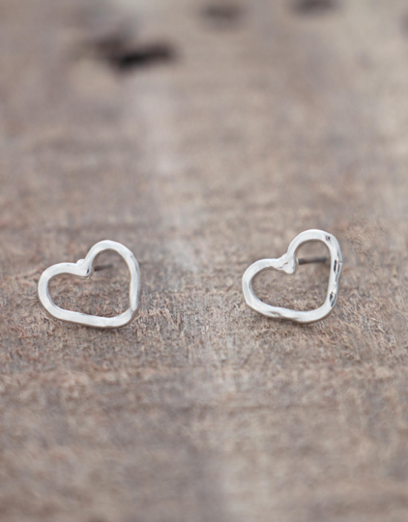Boucles d'oreilles Amore-argent