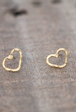 Amore Studs-gold