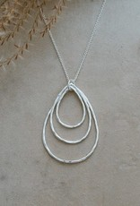 Divergence Necklace-silver