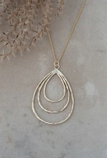 Divergence Necklace-gold