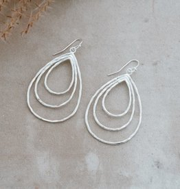 Divergence Earrings-silver