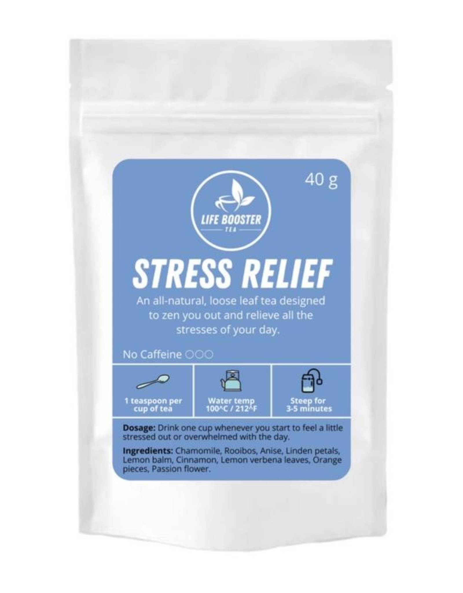 Life Booster Tea - Stress Relief