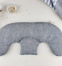 Shoulder Heating Pad-hemp and organic cotton grey