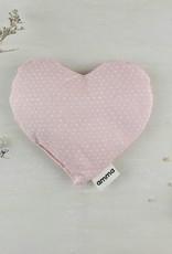 Coussin réconfort Coeur pour bébé-rose