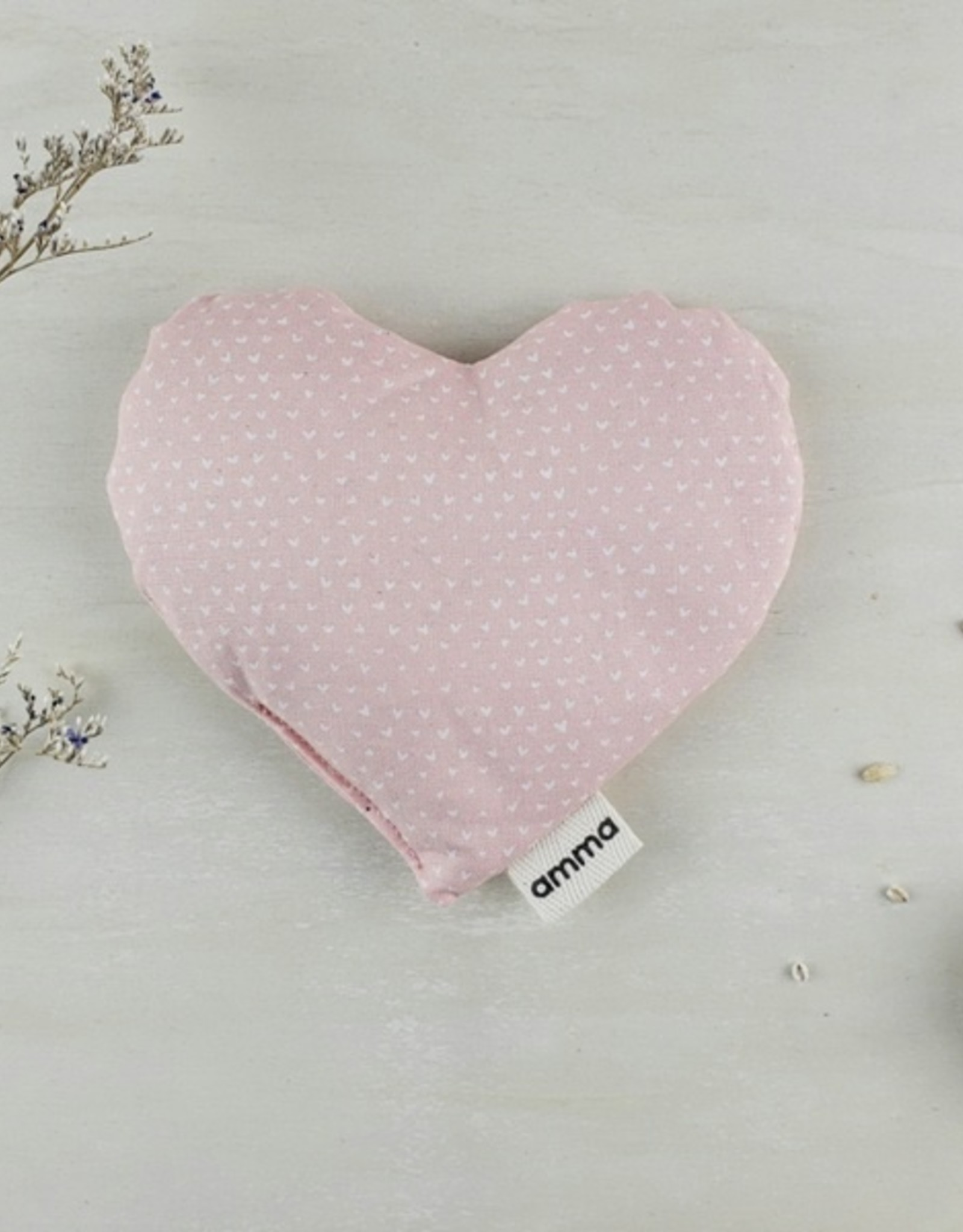 Heart Comfort Cushion for Baby-pink