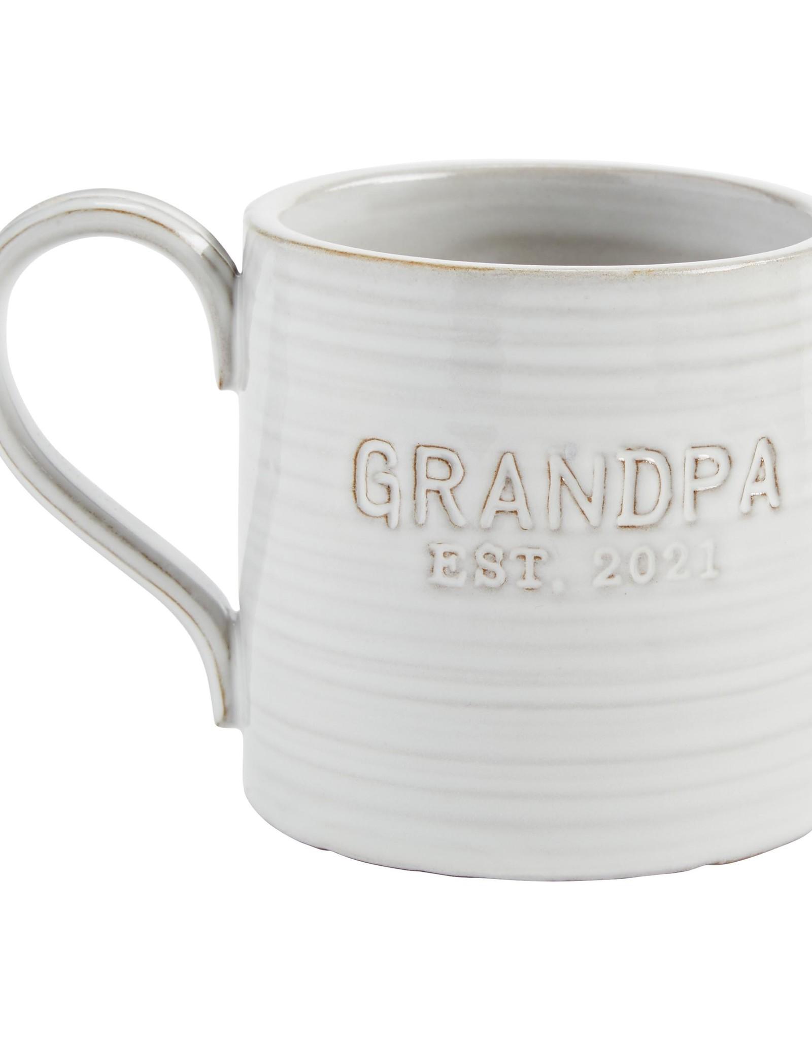 Grandpa Est 2021 Mug