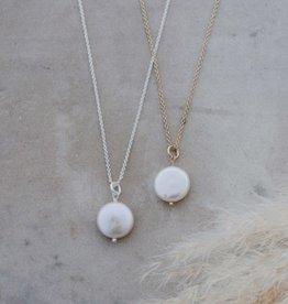 Collier Liv-argent/perle d'eau douce
