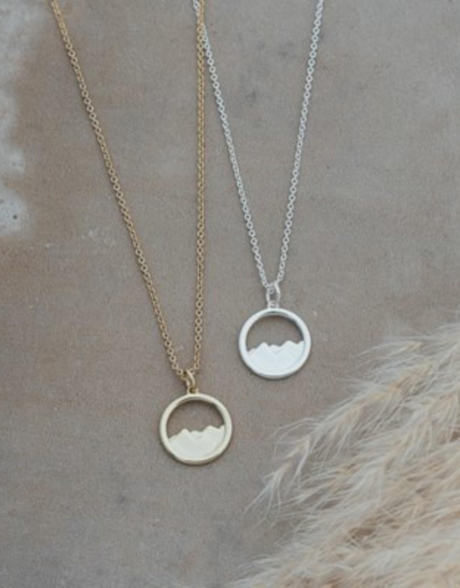 Diamond Head Necklace-gold