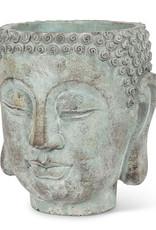Buddha Head Planter 8''H