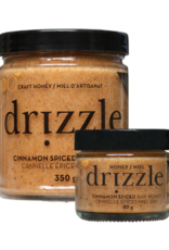 Cinnamon Spiced Raw Honey 80g