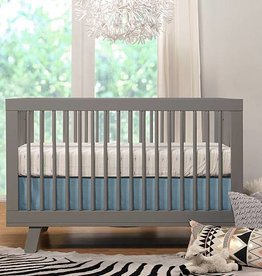 Babyletto Babyletto Hudson 3-in-1 Convertible Crib with Toddler Bed Conversion Kit