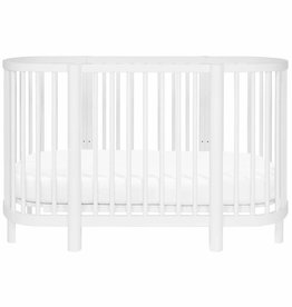 Babyletto Hula Convertible Oval Crib and mini W/ Mini Pad