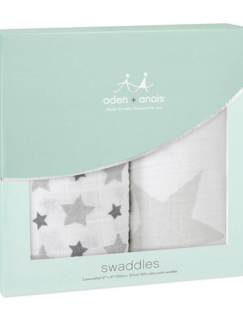 Aden + Anais Aden + Anais 4-pack classic swaddle