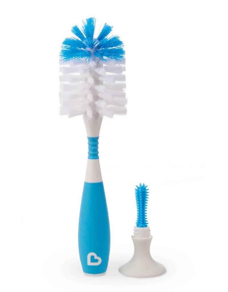 Munchkin Munchkin Bristle Bottle Brush