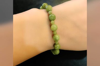 Bracelet: Connemara Marble 4