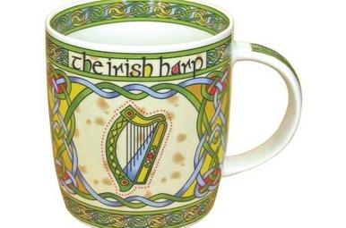 Mug: Irish Harp