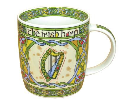 Clara Mug: Irish Harp