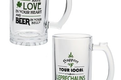 Mugs: Love/Luck Beer