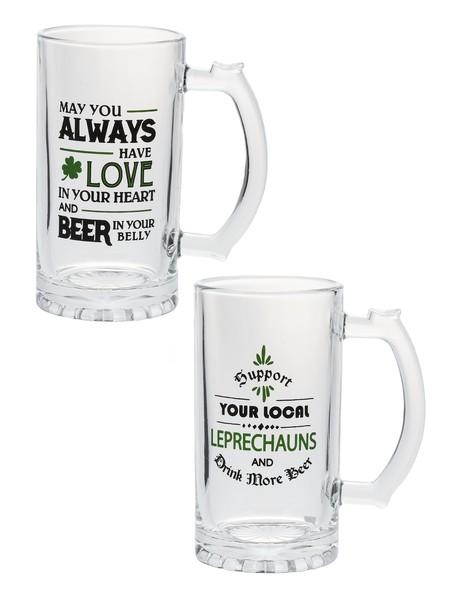 Ganz Mugs: Love/Luck Beer