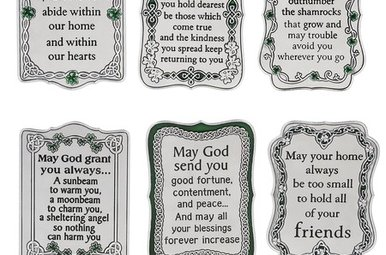 Plaque: Mini Irish Sayings