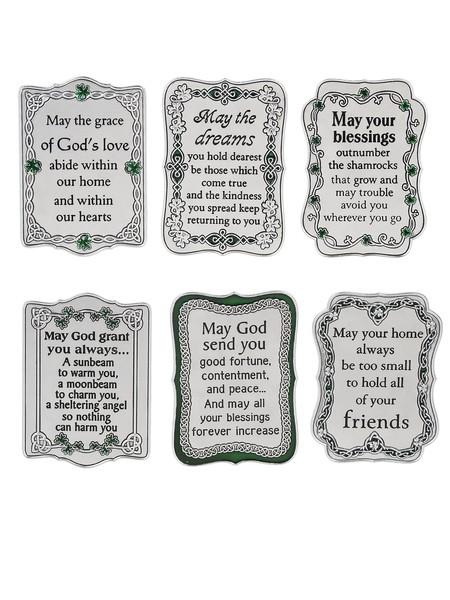 Ganz Plaque: Mini Irish Sayings