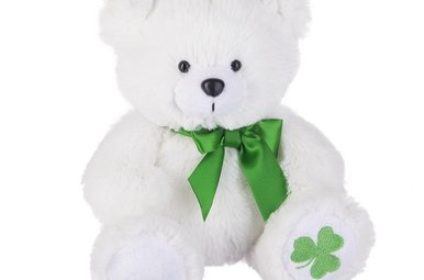 "Toy: 9"" Shamrock Bear"