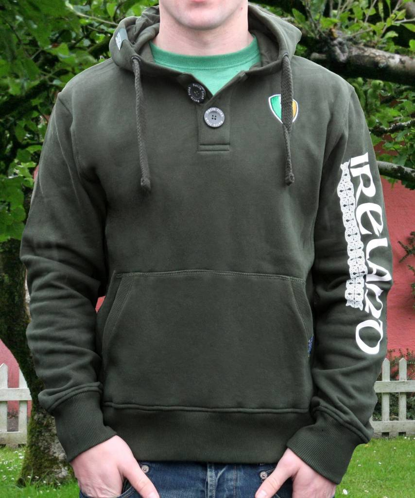 Hoodie: Ireland Two Button
