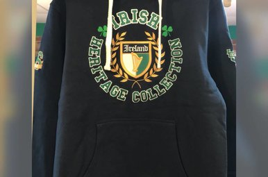 Hoodie: Irish Heritage Collection