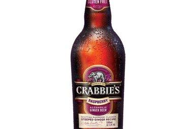 Beer: Crabbie's Scottish Raspberry, Single Bottle