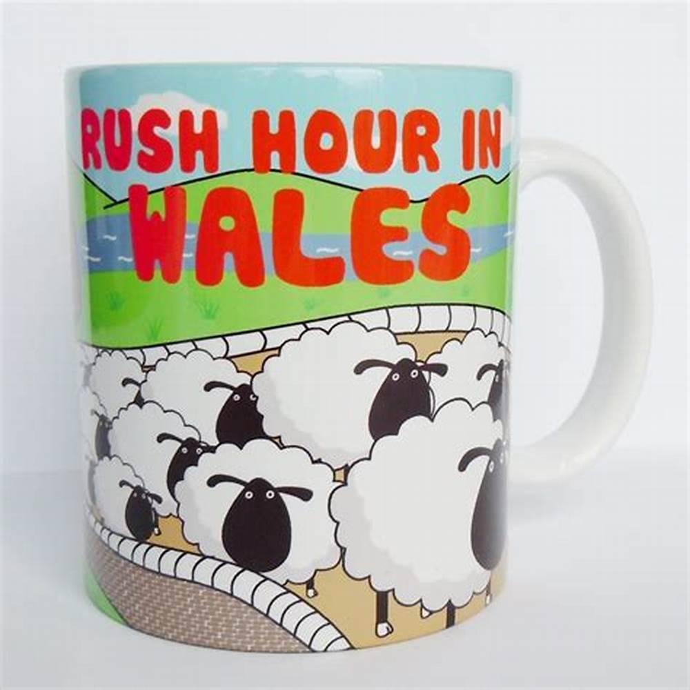 Mug: Rush Hour in Wales