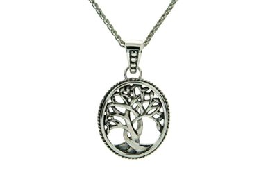 Pendant: Sterling Tree of Life, Small