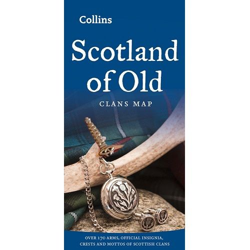 Map: Clans of Scotland, Old