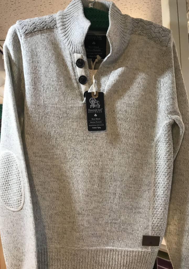 Sweater: Emerald Isle Galway White