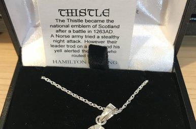 Pendant: Scottish Thistle