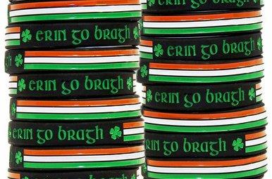 Bracelet: Erin-Go-Bragh Rubber