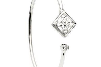 Bracelet: Bangle SS Celtic