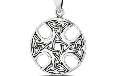 Pendant: SS Celtic Cross Medallion