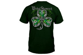 T Shirt: Wicked Shamrock