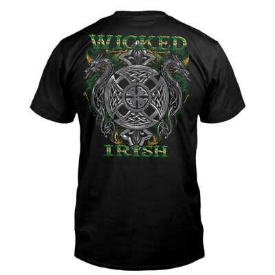 T Shirt: Wicked Irish