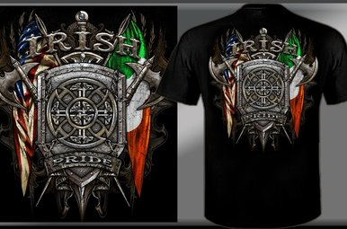 T Shirt: Irish/Scottish Pride