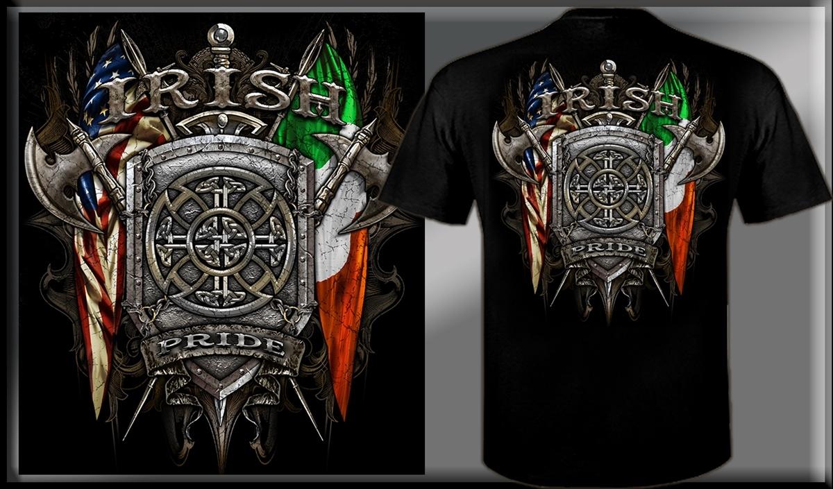 T Shirt: Irish/Scottish Pride