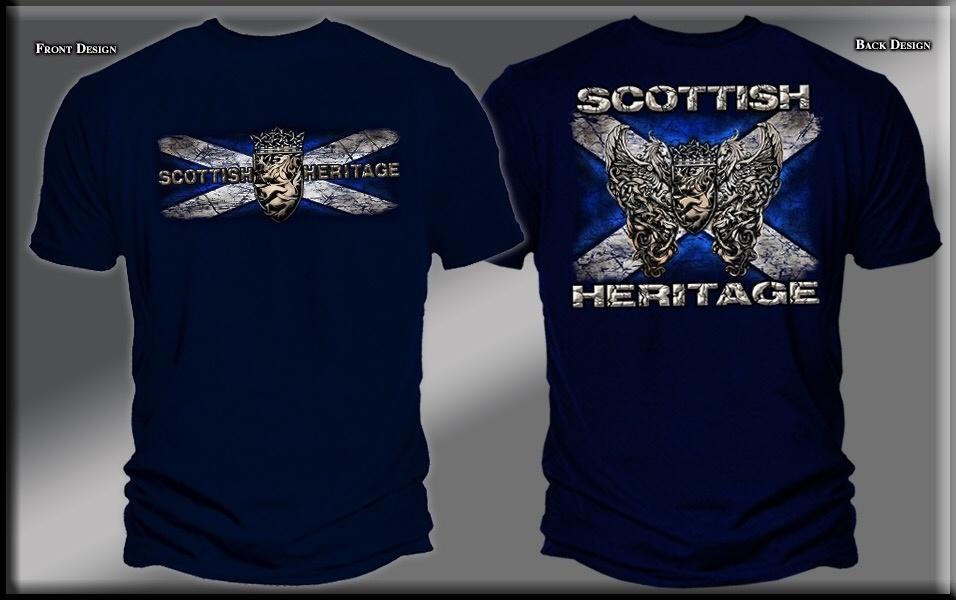 T Shirt: Scottish Heritage